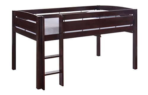 Canwood Whistler Junior Bed-Espresso Loft, Single