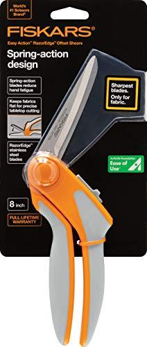 Fiskars No.8 Premier Easy Action Bent Scissors Now $13.85 (Was $22.99)