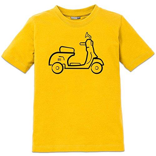 Camiseta de niño Scooter Silhouette by Shirtcity