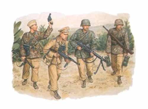Dragon 6036 Hermann Goering Division Tunisia 1943 1:35 Plastic Kit Maquette
