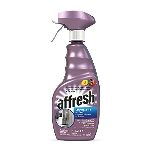Whirlpool W10355016 16-Ounce Affresh Stainless Steel Cleaner