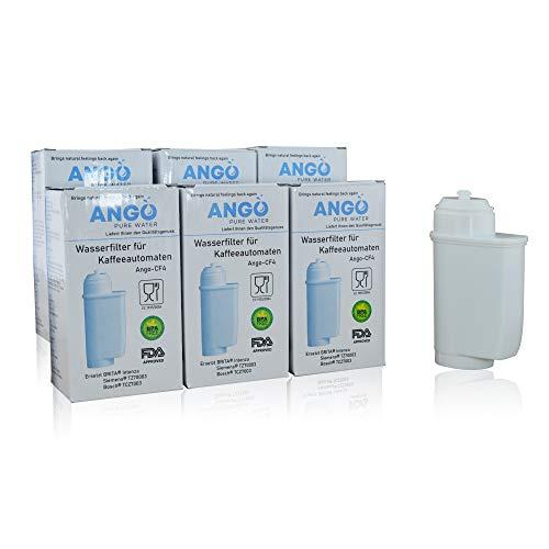 6x Wasserfilterpatronen ersetzen TZ70003/TCZ7003/Brita Intenza Filter, kompatibel mit Siemens EQ3 EQ5 EQ6 EQ7 EQ8 EQ9 & Bosch Vera Kaffeevollautomaten