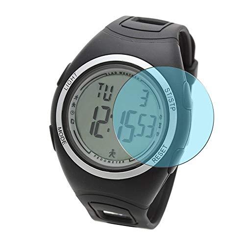 Vaxson 3 Unidades Protector de Pantalla Anti Luz Azul, compatible con LAD WEATHER lad011 Smartwatch smart watch [No Vidrio Templado] TPU Película Protectora