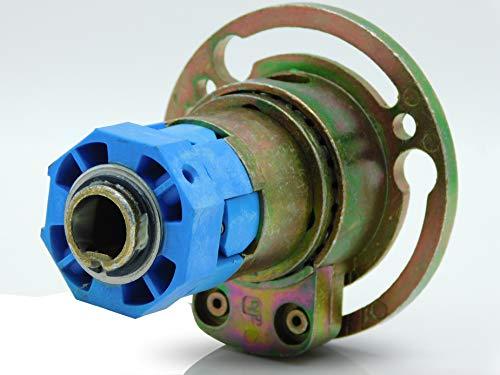 Kegelradgetriebe/Rolladengetriebe 2:1 4-Kant 6mm Freilauf Rechts