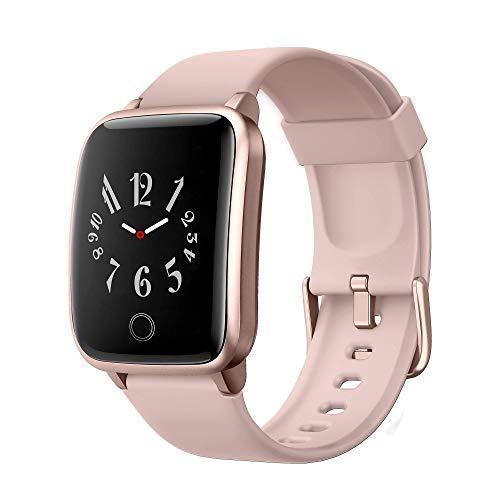 Smartwatch Herren,Fitness Armband Uhr IP68 Wasserdicht Fitness Tracker Sportuhr Fitness Uhr mit Schrittzähler Pulsuhren Stoppuhr Schlafmonitor für iOS Android Handy für Damen Herren SmartWatch Sport