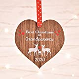 New Grandparents decoration | First Grandparent Christmas | Gift xmas bauble | new baby grandchild