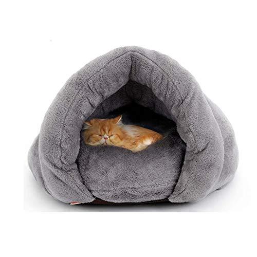 Invierno Caliente Cama Para Gato Deep Sleep Cama Gato Lindo Cama Para Perros Propio-calentamiento Calmante Cama Perro Tienda De Mascotas Cama Suave Para Perro Gato Suministros Para-B 50*50*36cm(20*20*