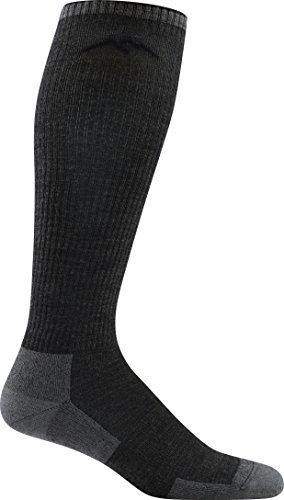 DARN TOUGH (Style 2008) Mens Westerner Work Sock - Charcoal, XL