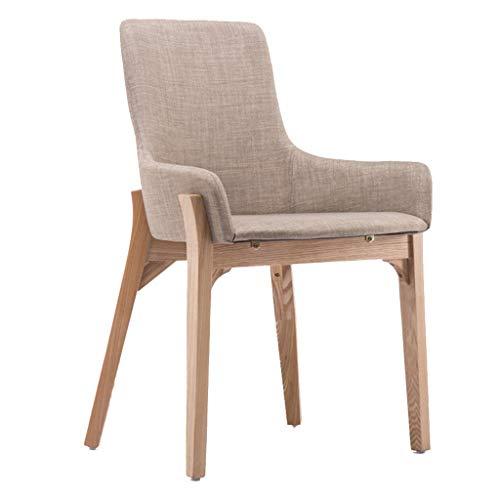 Chaise en Bois Massif Chaise d'ordinateur créatif Chaise Minimaliste Moderne étude Maison Maquillage Tabouret Dossier Salle à Manger Chaise en Bois Massif Chaise Chaise Design