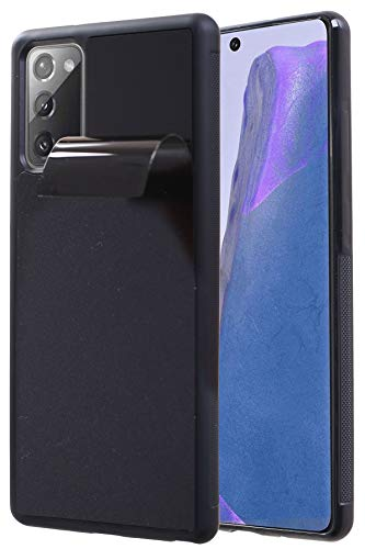 Anti Gravity Phone Case Galaxy Note 10 Plus with Dust Proof Film, Magic Nano Sticky Suction Stick to Gym Mirror Wall, Selfie Case for Galaxy Note 10 Plus