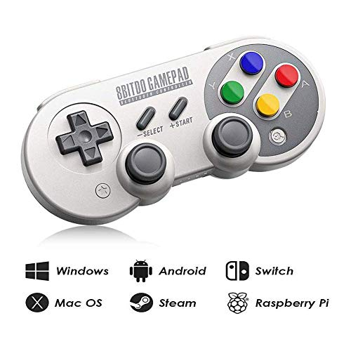 8Bit-do SF30 Pro Wireless Bluetooth Controller with Rumble Vibration