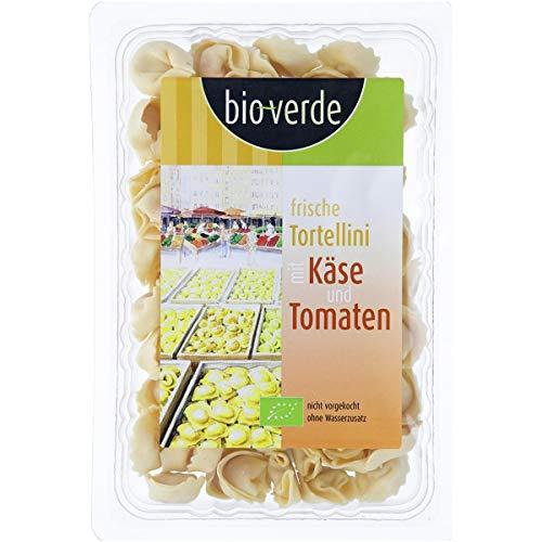 bio-verde Frische Tortellini mit Käse & Tomaten inkl. Kühlverpackung (200 g) - Bio