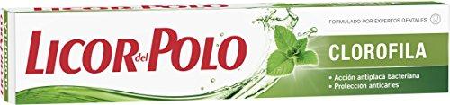Licor del Polo - Dentífrico Clorofila - Frescor Tradicional, Anti bacteriano y Anticaries