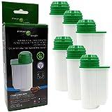 6x FilterLogic CFL-901B - Filtro de agua reemplaza el cartucho BRITA Intenza TCZ7003 - TCZ7033 - TZ70003 - 575491 - 467873 para Bosch / Siemens / Neff / Gaggenau Cafetera automática - Máquina de café
