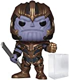 Marvel: Avengers Endgame - Thanos Funko Pop! Vinyl Figure (Includes Compatible Pop Box Protector Cas...