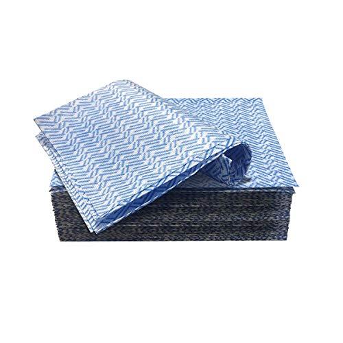Jebblas 60 PC desechable de Limpieza Toallas Reutilizables de Limpieza Paños de Cocina paños de Cocina Tela no Tejida paño Plato
