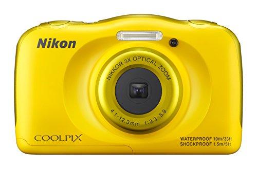 Nikon Coolpix S33 - Cámara compacta de 13.2 MP (Pantalla de 2.7