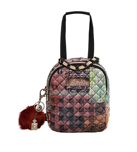 Anekke Preciosa mochila pequeña de terciopelo