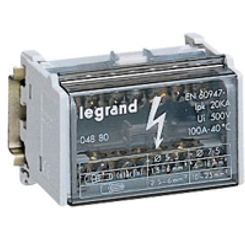 Legrand reparticion standard - Repartidor bipolar 125a lexic