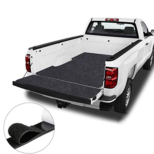 Pickup truck Bed Mat,Heavy-Duty Truck Utility Bed Mat,Absorbent/Waterproof – Protects Pickup truck, Premium Shelf Liner, Premium Absorbent Oil Pad Contains Liquid,Reusable,Washable (5.9' x 6.6')