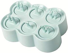 MINGTAI Manual Homemade Silicone Ice Cream Mold Reusable Ice Cubes Tray Freeze Popsicle Mold Christmas Decor Ice Cream Mak...