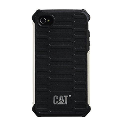 Caterpillar CAT 00122872 Schutzhülle für Apple iPhone 4/4S schwarz