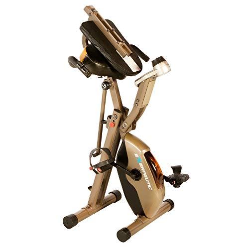Exerpeutic GOLD 525XLR Folding Recumbent Exercise Bike - with 181 kg maximum weight capacity