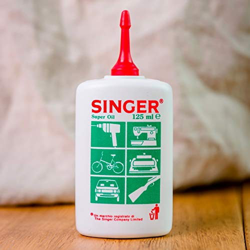 Aceite «Singer», lubricante para las partes mecánicas de electrodomésticos
