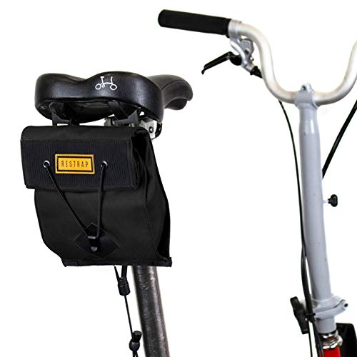 Restrap Saddle Bag - Bolsa de sillín para Adulto, Unisex, 1