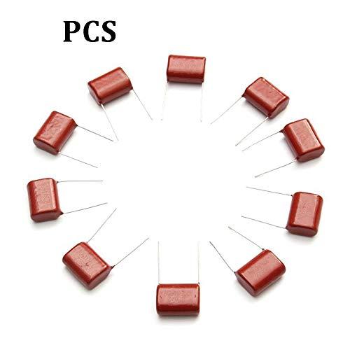 Passive Components 10PCS R285 450V 2.2uF CBB Polypropylene Film Capacitor Pitch 20mm 225 2.2uF 450V Capacitors