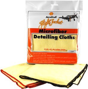 AeroShell Flight Jacket Microfiber Detailing Cloth