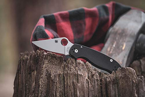 Spyderco Para 3 Signature Folding Knife with 2.95