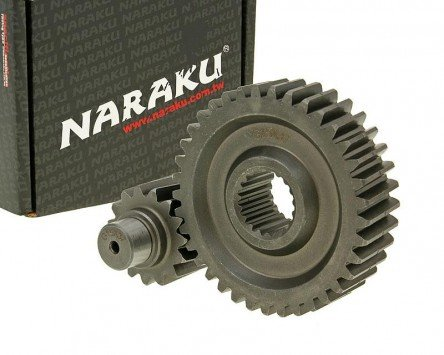 Getriebe sekundär Naraku Racing 15/37 +20Prozent für REX Imola 125