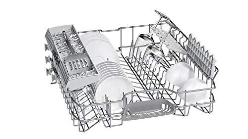 Bosch Built in Dishwasher (SMI25AS00I, Silver, 60cm)