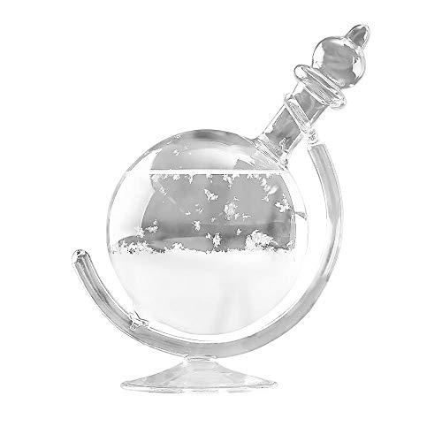 YChoice365 Sturmglas Wetterstation Kreative Und Stilvolle Desktop-globus Wettervorhersage Kristall Wettervorhersage Flasche Dekorative Wettervorhersage Tasse Glas Handwerk Nach Hause