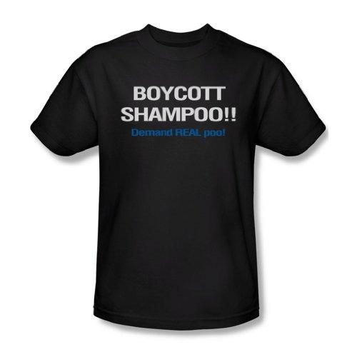 Boykott-Shampoo - Männer T-Shirt in schwarz, Large, Black