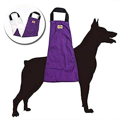 WATFOON Dog Support & Rehabilitation Lift Harnesses Pet Sling for Large Dogs Post-Op Surgery of Weak Hind Legs, Helping Old K9 Cruciate Ligament, Arthritis, Disabled, Get Up,Injured Dogs Walk