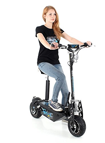 Trottinette lectrique SXT Scooters 1600 XXL 1600w Brushless Noire Batterie Lithium Li-ion 48V/30Ah Vitesse 25km/h