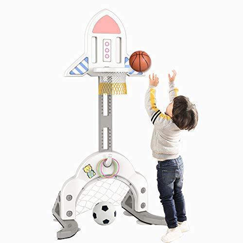 De aro de Baloncesto para niños, Juguete de Pesca de Baloncesto para Interior elevable para niños pequeños | Aro de Baloncesto Little Tikes para Regalo de cumpleaños de niña niño