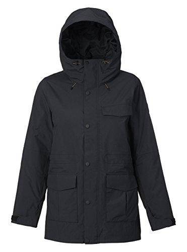 Burton Damen Runestone Jacket Snowboardjacke, True Black, XS