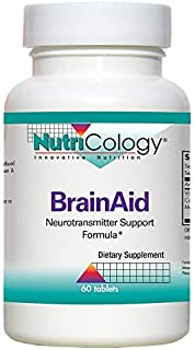 NutriCology BrainAid 60 Tablets