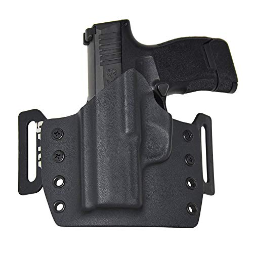 GRITR Holsters for Sig P365, KYDEX, Outside The Waistband - OWB - Made in USA, Left Hand