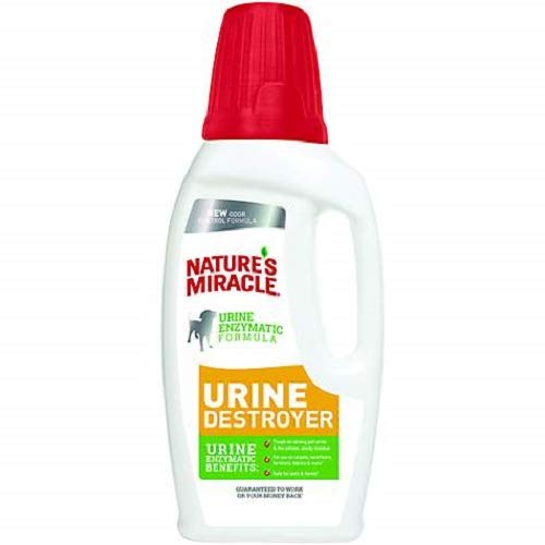 Nature's Miracle Urine Destroyer Formula Stain & Residue Eliminator,...