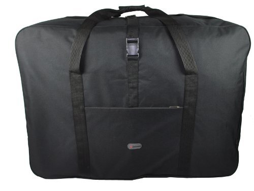 """5 Cities® 36\"""" Super Lightweight Durable Luggage Holdall (Black)"""
