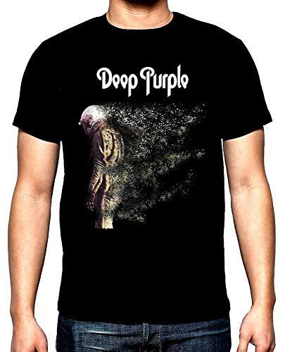 Deep Purple,Woosh,M En'S T-Shirt,New,100% Cotton,Blacks