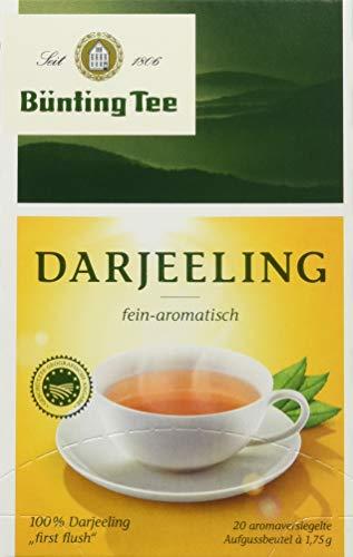 Bünting Tee Darjeeling 20 x 1.75 g Beutel (1 x 35 g)
