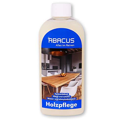 ABACUS 500 ml Holzpflege Indoor Bonin - Möbelpflege Holzpflege mit Leinöl (4023)