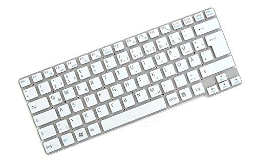 Original Tastatur Sony Vaio VPC CW VPCCW1S1E VPCCW2S1E Series DE Neu Weiss