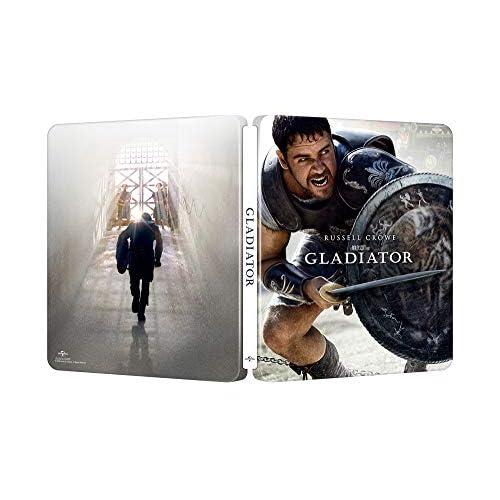 Il Gladiatore - Edizione 20° Anniversario Steelbook 4K Ultra Hd  (3 Blu Ray)