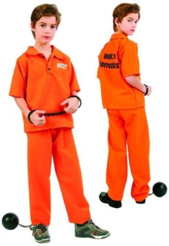 Not Guilty Prisoner Boy Kids Costume by RG Costumes